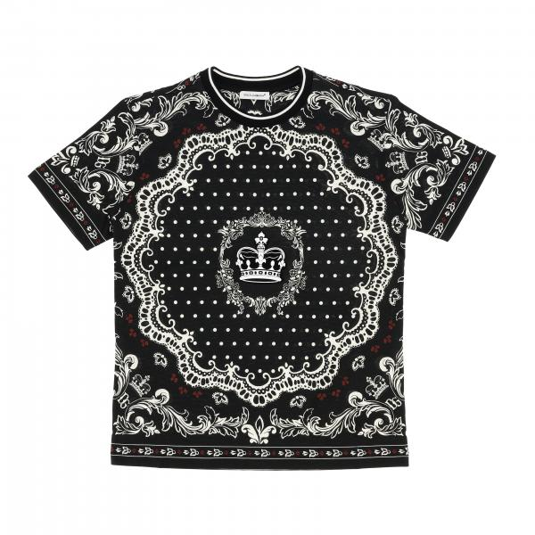 Dolce & Gabbana short-sleeved T-shirt with print