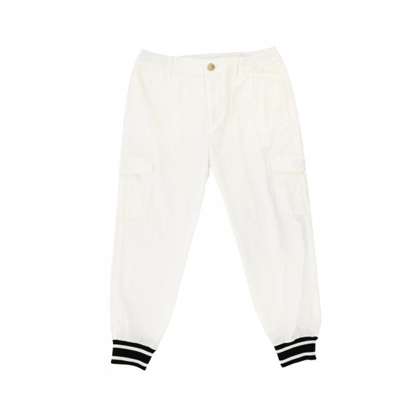 Dolce & Gabbana casual trousers with cuffs on the bottom