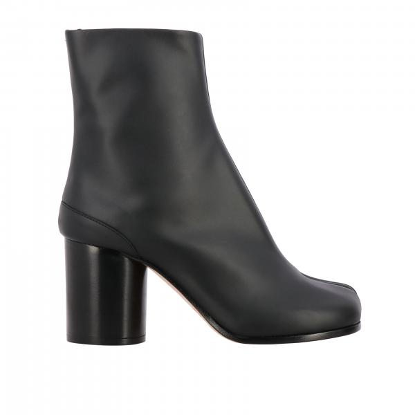 Tabi Maison Margiela leather ankle boots