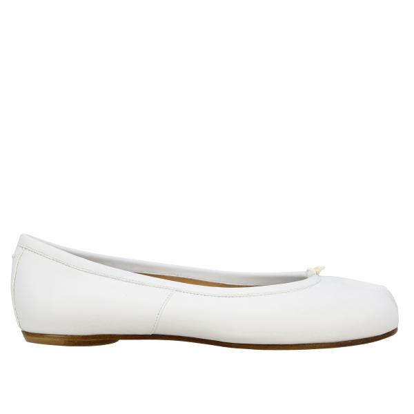 Tabi Maison Margiela leather ballet flats