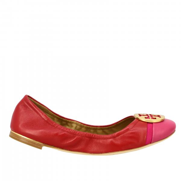 Minnie Tory Burch ballet flats in nappa leather with emblem