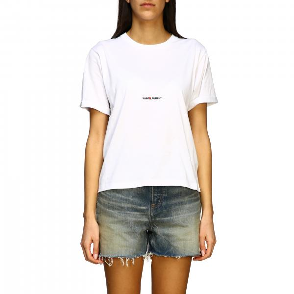 Saint Laurent short-sleeved T-shirt with logo
