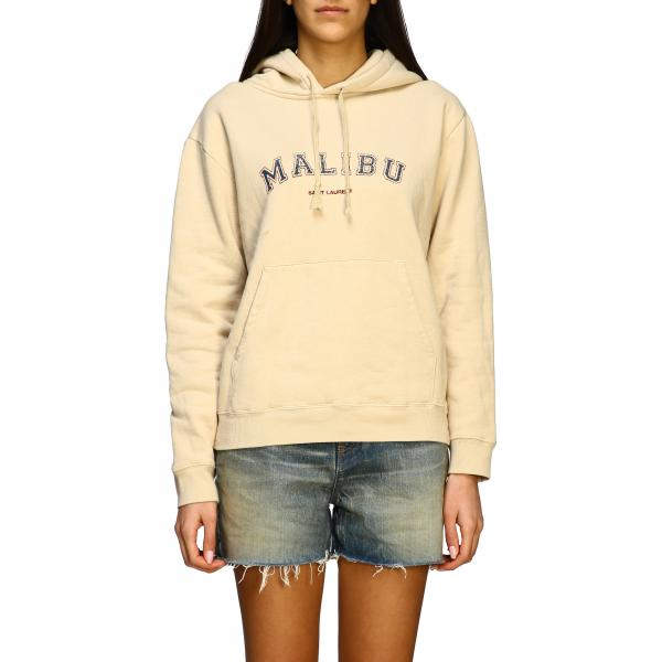 Saint Laurent hoodie with Malibu print