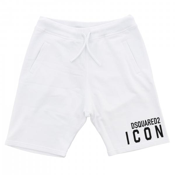 Pantaloncino Dsquared2 Junior jogging con logo Icon