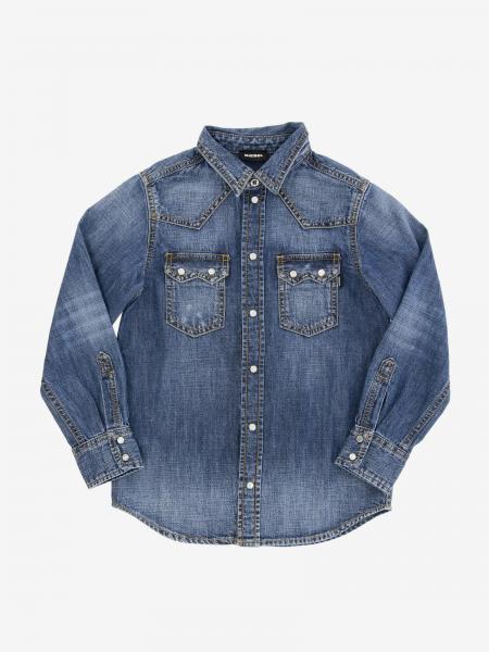 Camicia di jeans Diesel a maniche lunghe