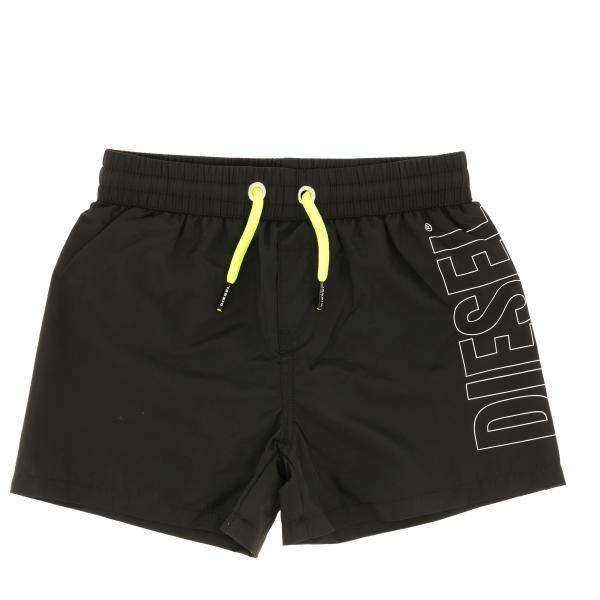 Diesel boxer swimsuit with drawstring and logo