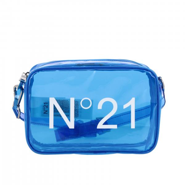N ° 21 shoulder bag in pvc