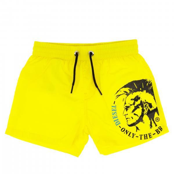Costume Diesel a boxer con coulisse e logo