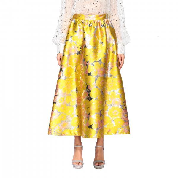 Jupe Msgm large et évasée à motif floral
