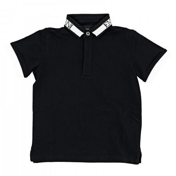 Emporio Armani short-sleeved polo shirt with logo