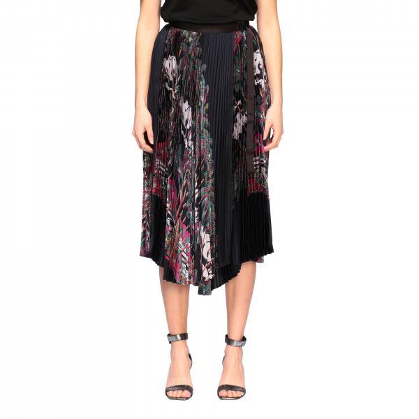 Jupe plissée Sacai à motif floral