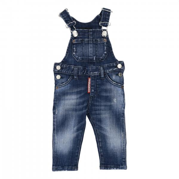 Salopette Dsquared2 Junior in denim