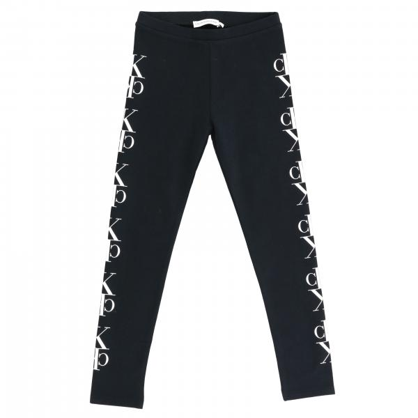 Leggings Calvin Klein in tessuto stretch con monogramma CK