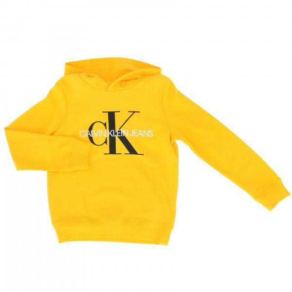 Felpa Calvin Klein con cappuccio e big logo