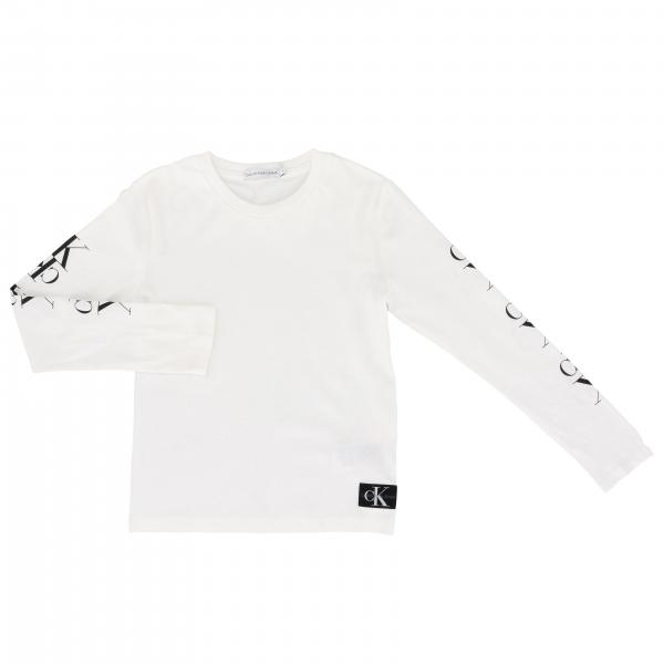 Calvin Klein long-sleeved T-shirt with CK monogram
