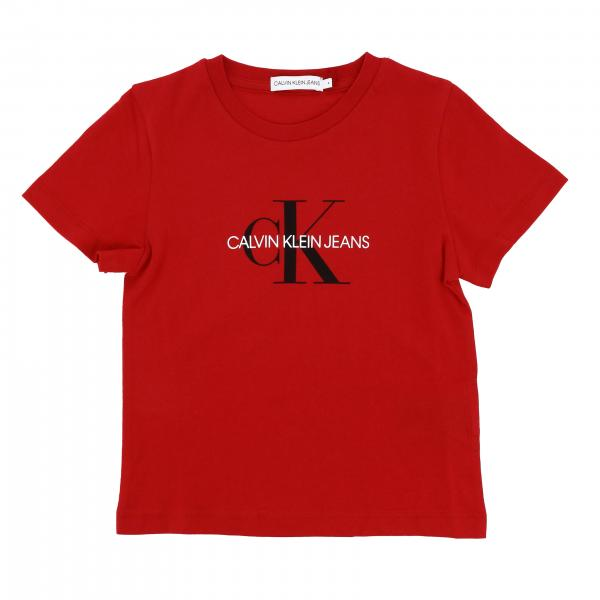 Calvin Klein short-sleeved T-shirt with logo