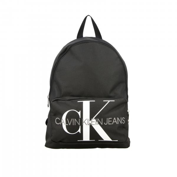 Calvin Klein nylon backpack with big logo