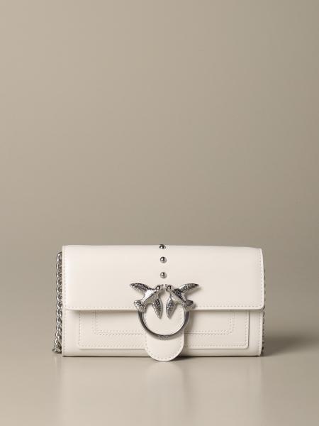 Pinko Love wallet simply 真皮手袋
