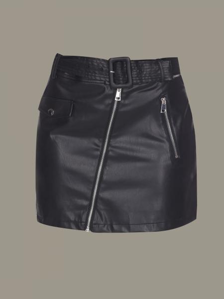 Mini jupe Liu Jo avec ceinture assortie et zip