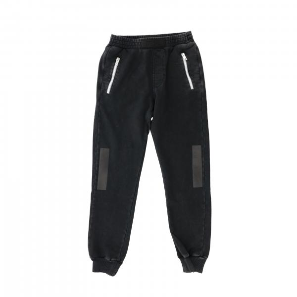 Pantalone Diesel jogging con zip colorate