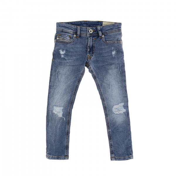 Jeans Diesel in denim used con rotture