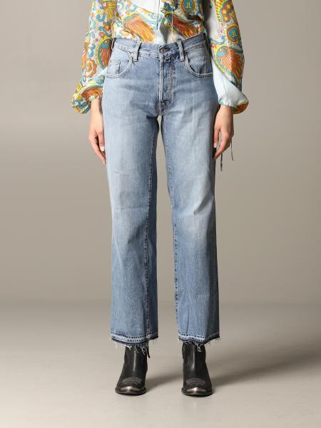 Golden Goose wide jeans