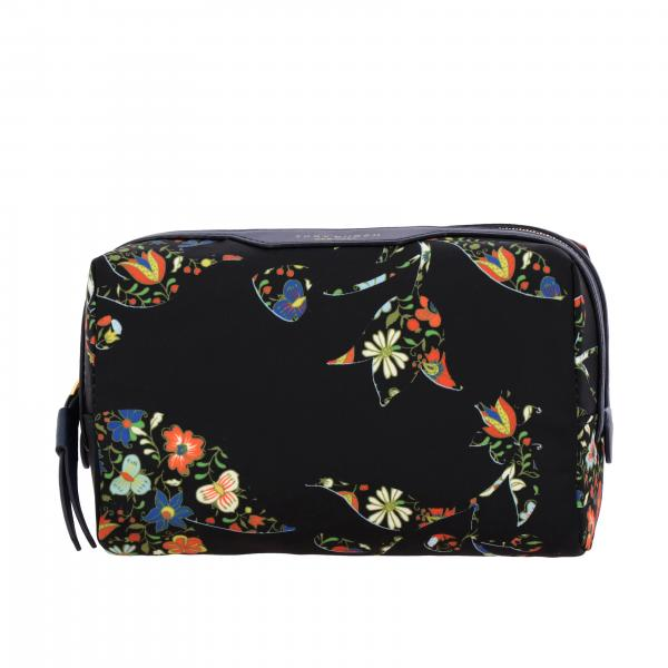 Beauty case Perry Tory Burch in nylon stampato
