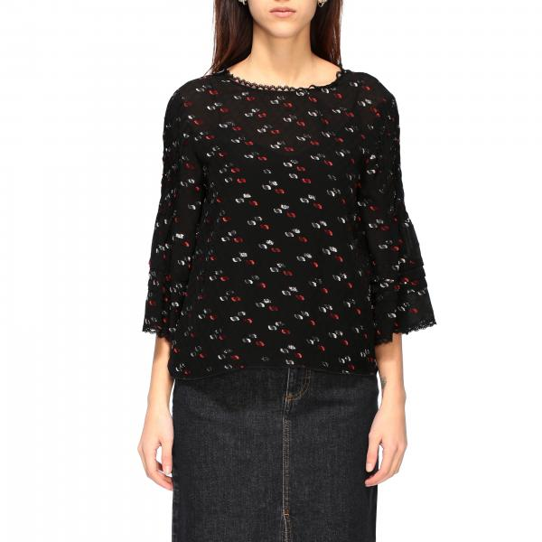 See By ChloÉ shirt with all-over pattern