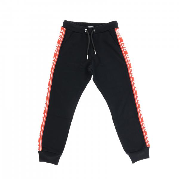 Diesel jogging trousers with logoed bands