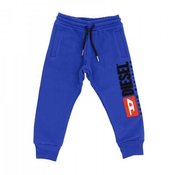 Diesel jogging trousers with maxi logo