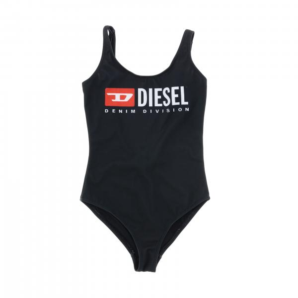 Diesel one-piece swimsuit with logo print
