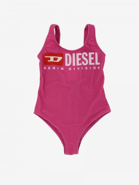Costume Diesel intero con stampa logo