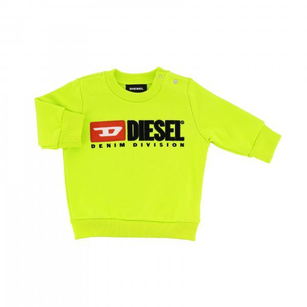 Diesel Sweatshirt mit Rundhalsausschnitt und Logo