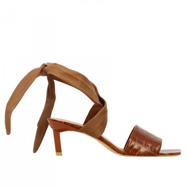 Heeled sandals women Ganni