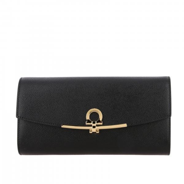 Gancini Salvatore Ferragamo bag in saffiano leather