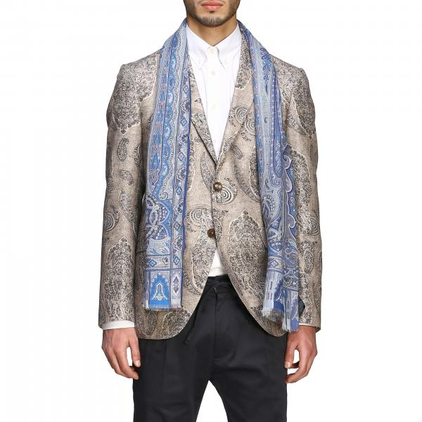Sciarpa Etro a fantasia Paisley all over