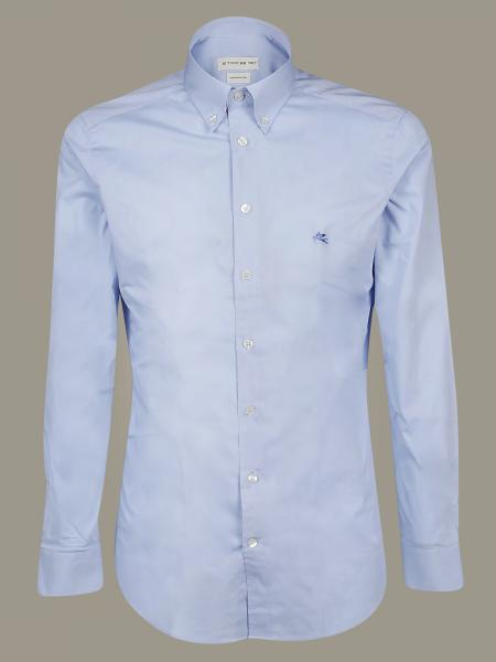 Classic Etro shirt with button-down collar