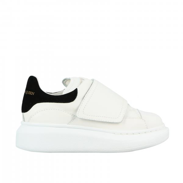 Alexander Mcqueen sneakers in leather with strap