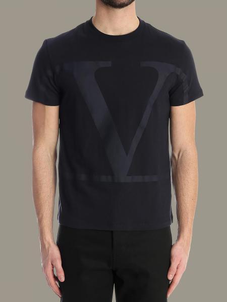T-shirt Valentino a maniche corte con VLogo