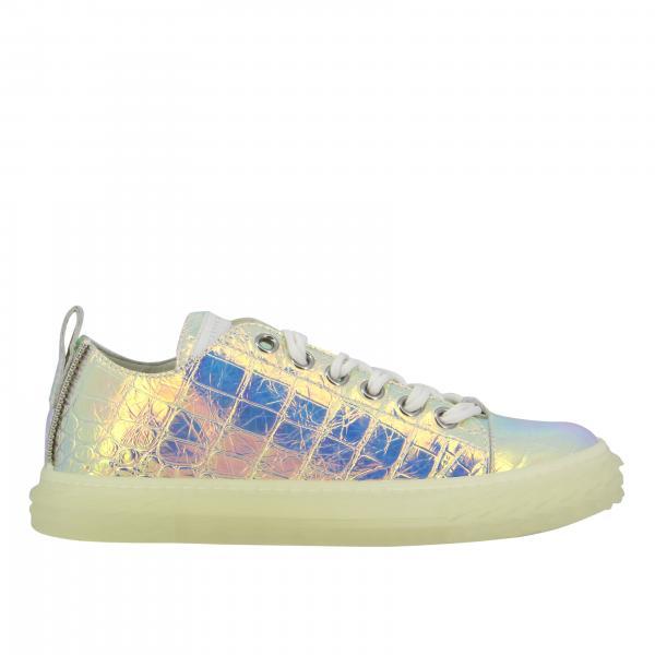 Sneakers Giuseppe Zanotti Design in pelle stampa cocco laminata