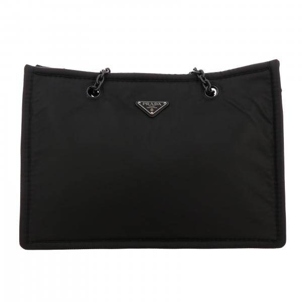 Shoulder bag women Prada