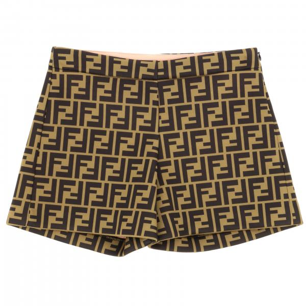 Classic Fendi shorts with all over FF monogram