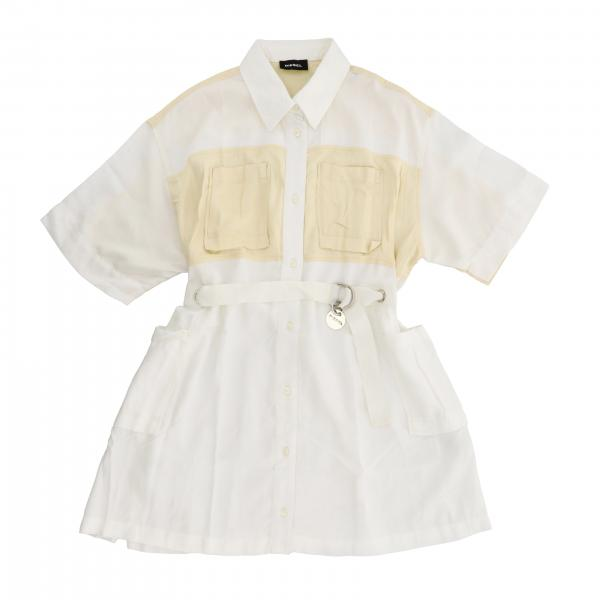 Diesel shirt dress with removable belt