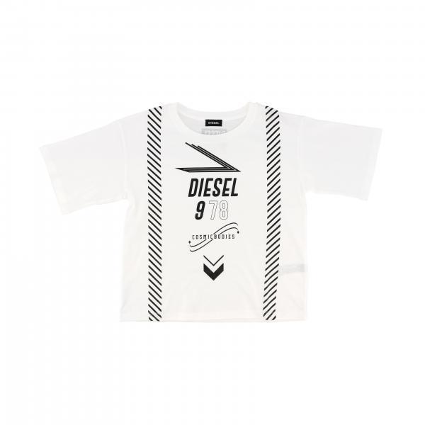 Diesel T-Shirt mit Logo Print