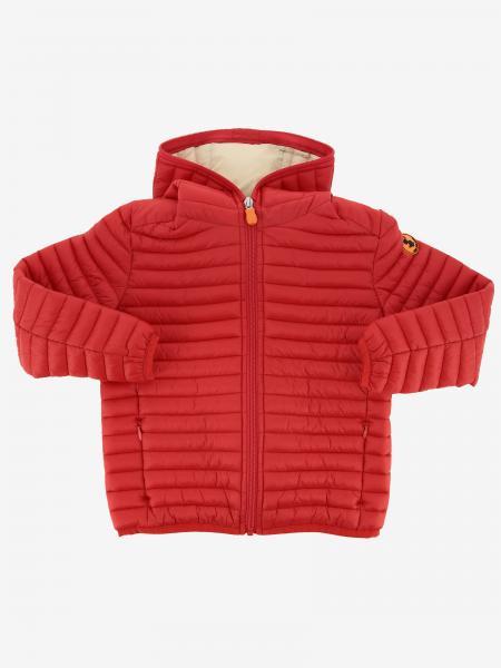 Куртка на молнии с капюшоном  Детское Save The Duck