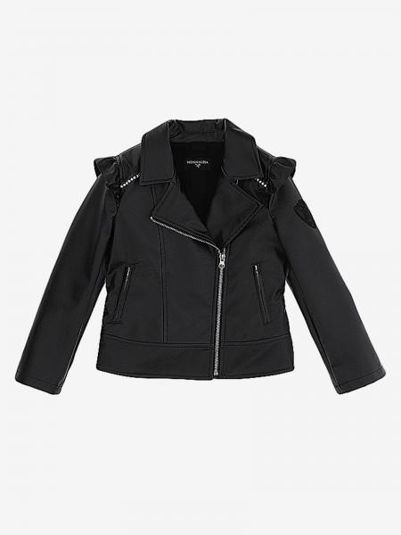 Cappotto Monnalisa con zip