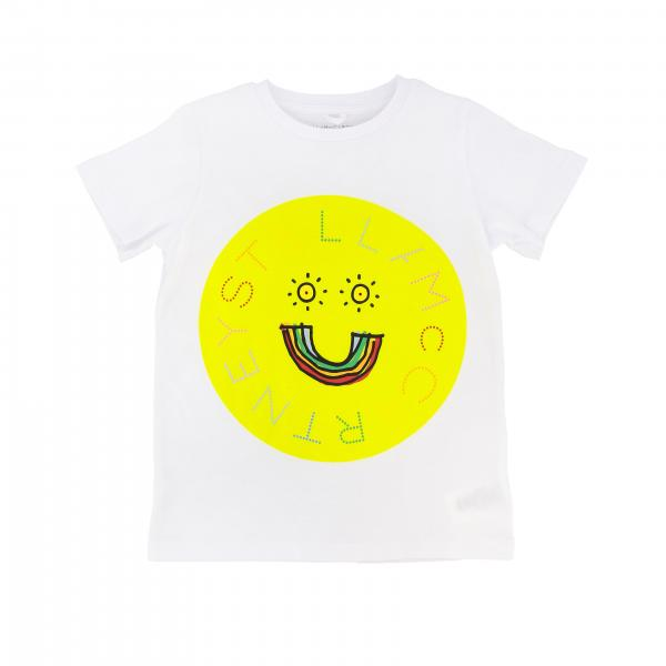 Stella Mccartney short-sleeved T-shirt with logo print