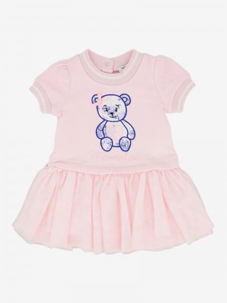 Abito Monnalisa Bebé con stampa orso