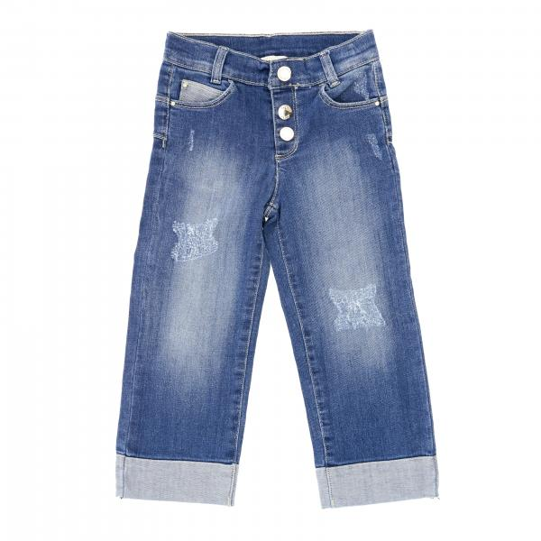 Liu Jo jeans in used denim with tears
