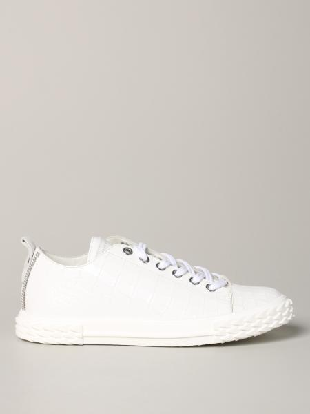Giuseppe Zanotti Design sneakers in croc print leather